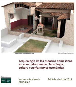 Arqueología de los espacios domésticos en el mundo romano