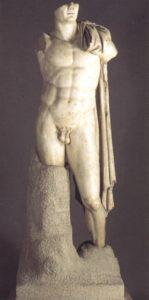 Caballos 2002 114 Traianeum, Trajano estatua heroica