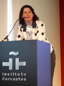 Helena Gabaudán, Direktorin des Instituto Cervantes