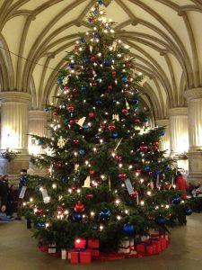 Weihnachten im Hamburger Rathaus