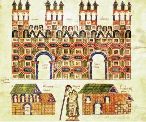 Codex Vigilanus, civitas Toletana (s. X d.C.)