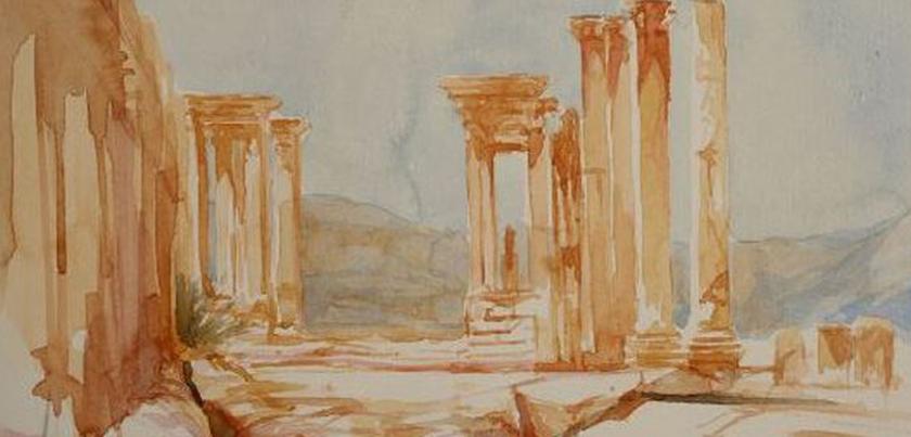 """Palmira"", Cuaderno de viaje a Siria de Paco Carreño (2006)"