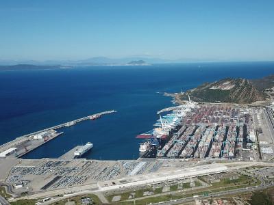 © TangerMed, El Estrecho de Gibraltar