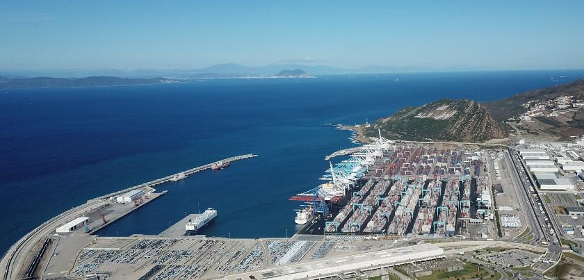 © Tanger-Med, Die Straße von Gibraltar